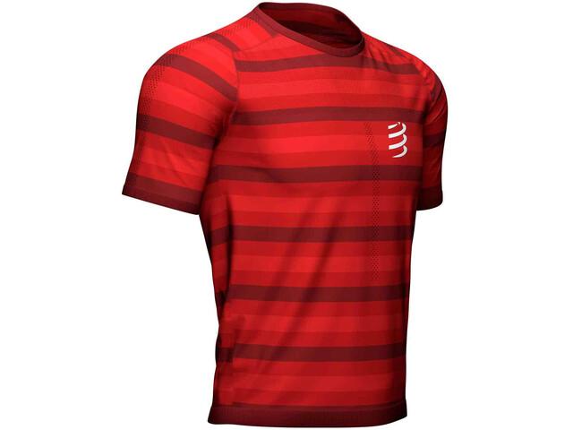 Compressport Performance SS T-Shirt red